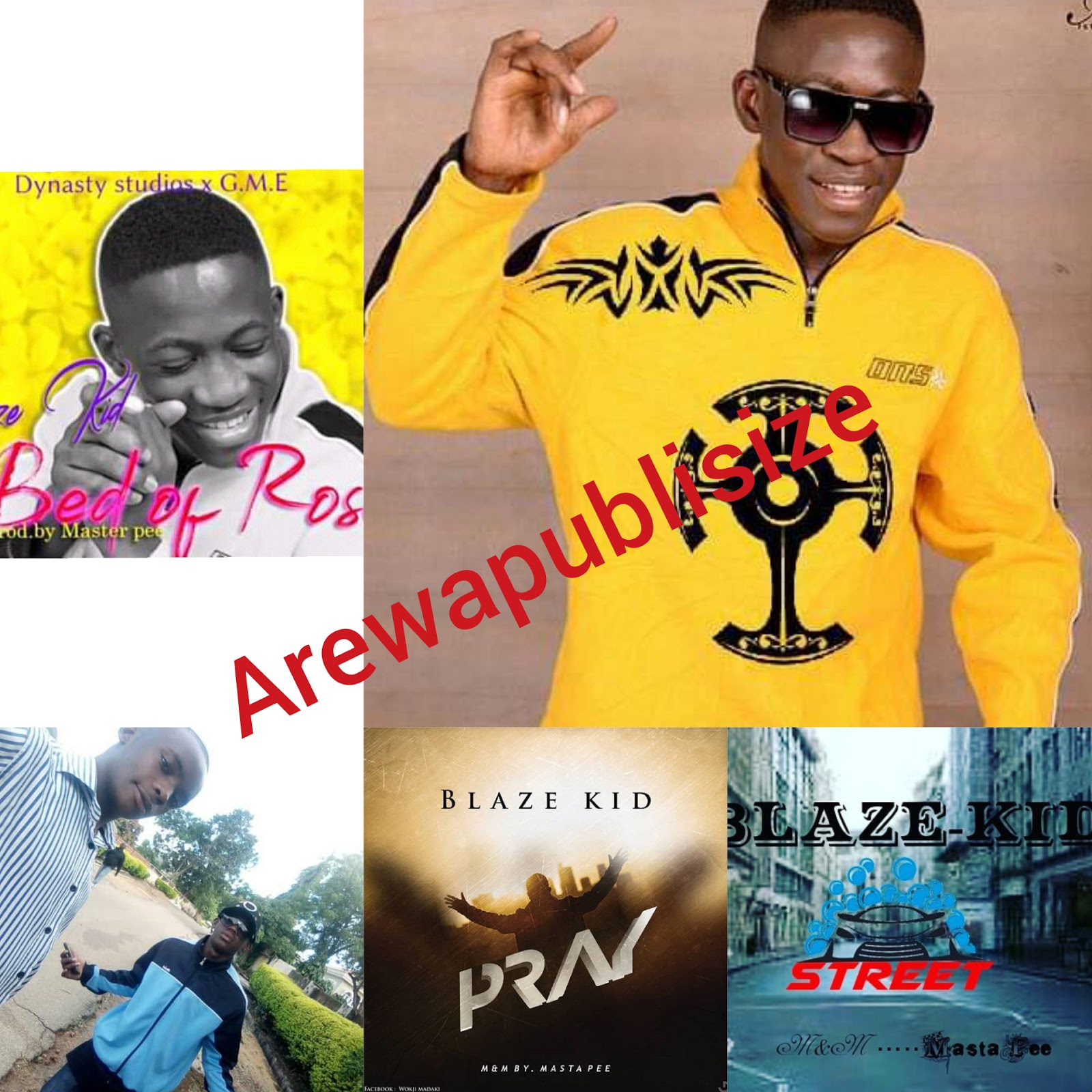 "[Link up] Meet ""Blaze kid"" the best Gospel rapper from Jos plateau state #Arewapublisize"