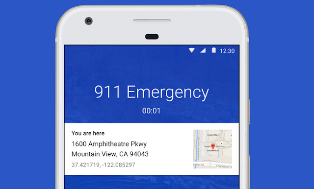 Google updates Phone app, now displays location when calling emergency services