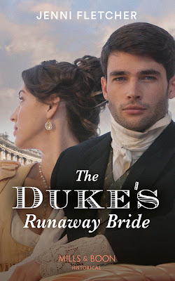 The Duke's Runaway Bride by Jenni Fletcher cover Mills & Boon historical