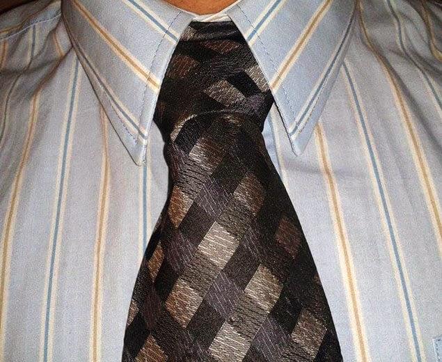 Kaklaraiščio mazgas Nr.11