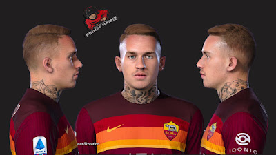 PES 2021 Faces Rick Karsdorp by Prince Hamiz