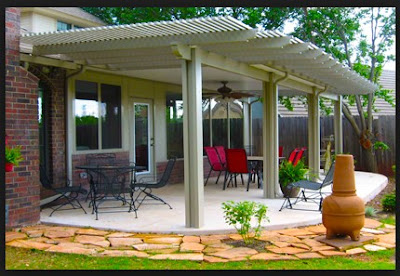 Simple Detached Patio Cover Plans