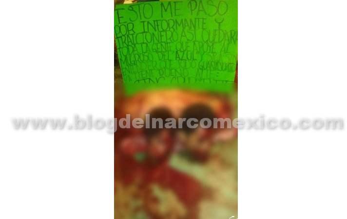 """Fotos: El Grupo Elite del CJNG levantó, torturó y descuartizó a dos hermanos que trabajaban para """"El Azul"""" en una comunidad de Celaya; Guanajuato"""