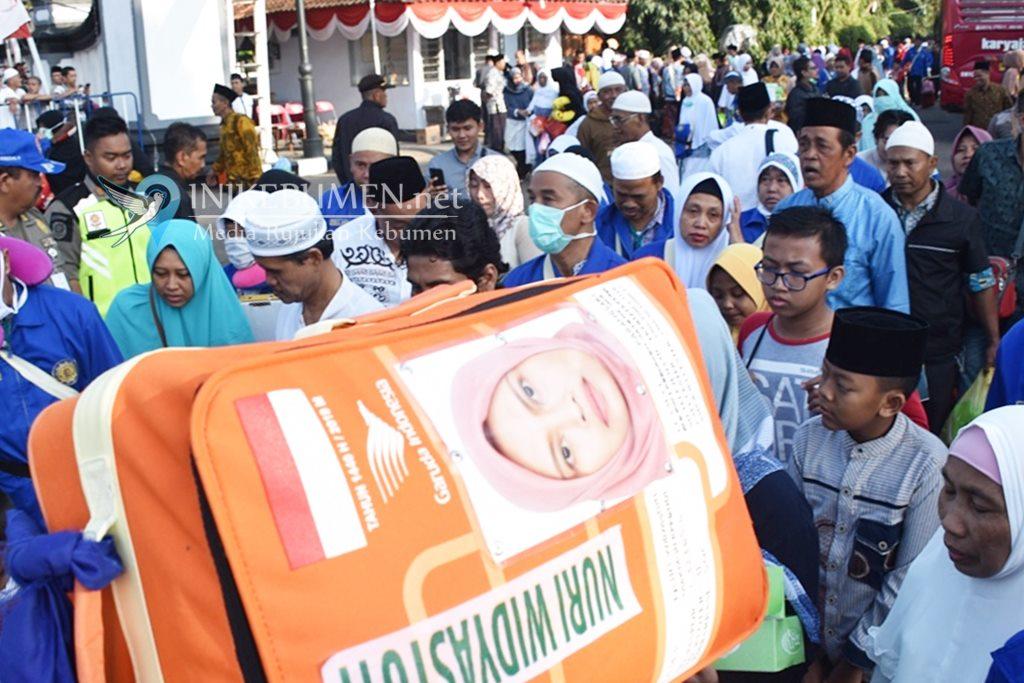 Satu Wafat, 219 Jamaah Haji Kloter 31 Sudah Kembali ke Kebumen