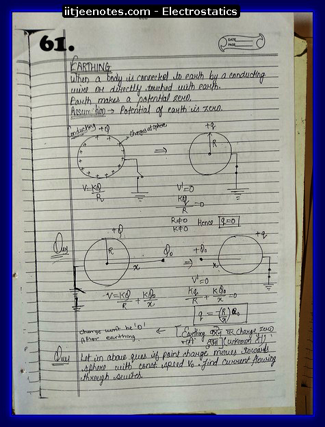 Electrostatics Notes class 12-1
