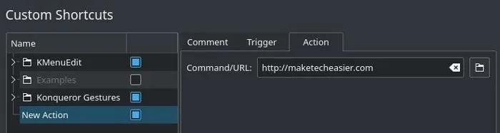 Remap Keys Kde Shortcut Action