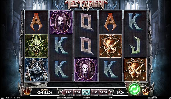 Main Slot Indonesia - Testament (Play N Go)