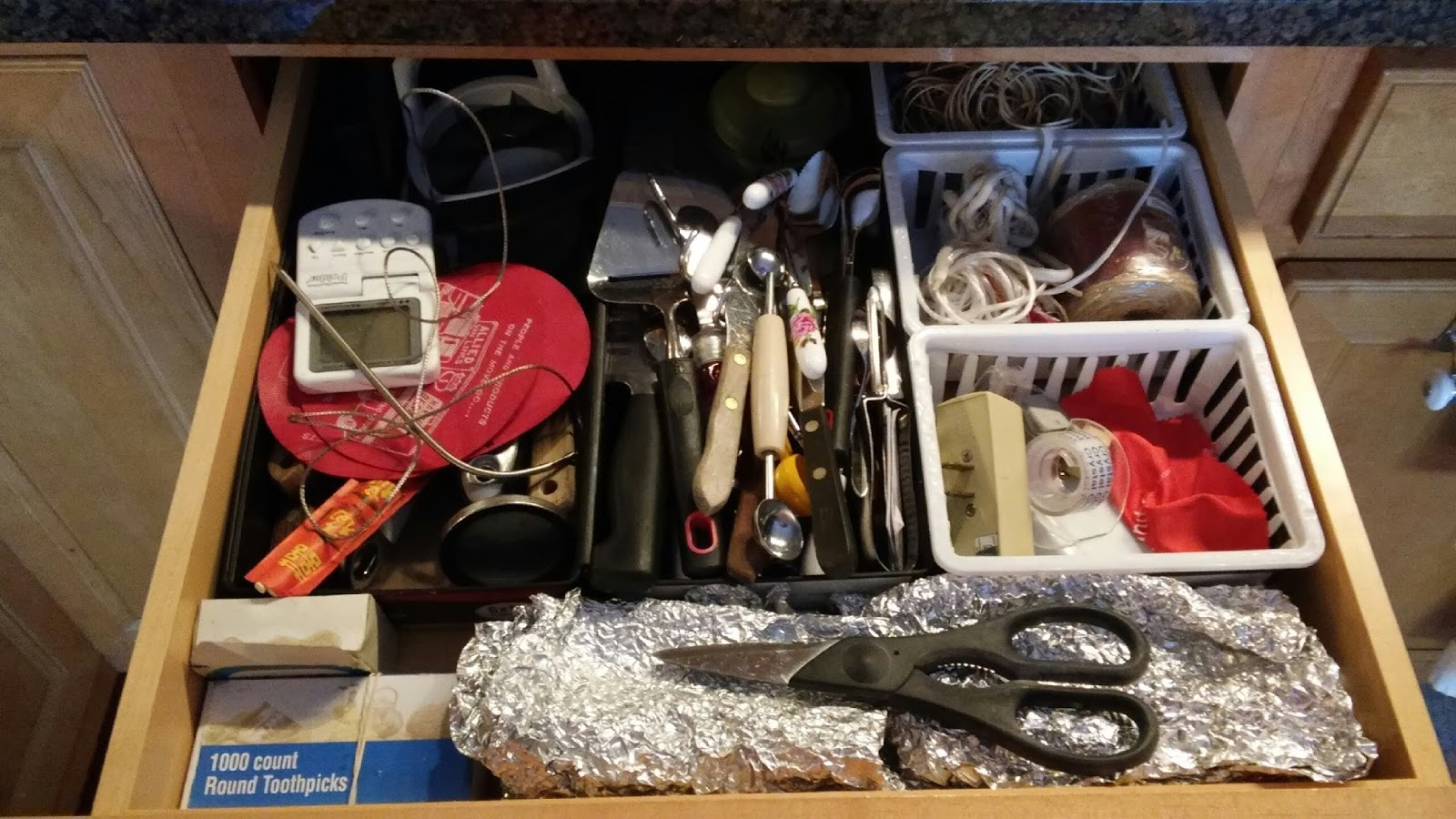 junk drawer Is that catch-all drawer in your kitchen looking extra messy it's time to tackle the clutter with these quick and easy tips.