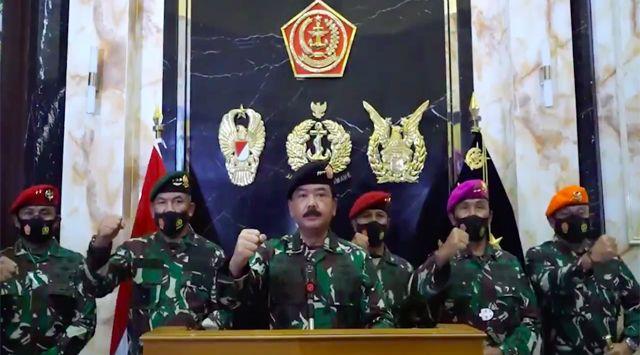 Setengah Juta Rakyat Papua Teken Petisi, Panglima TNI Jangan Cuma Omdo