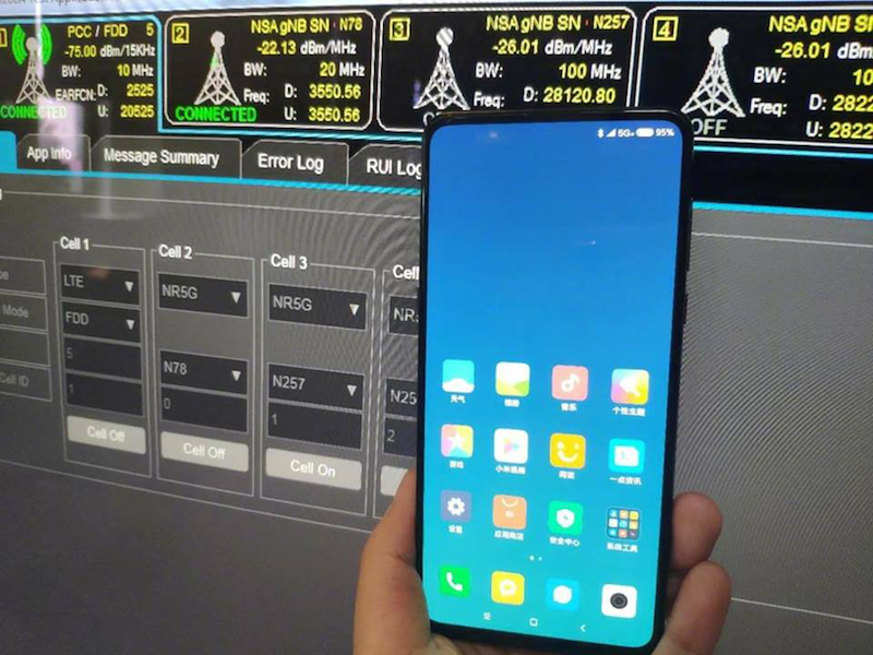 Look: Xiaomi conducts 5G tests on the upcoming Mi MIX 3