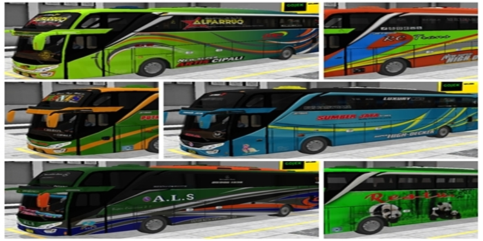 download livery shd  bussid original
