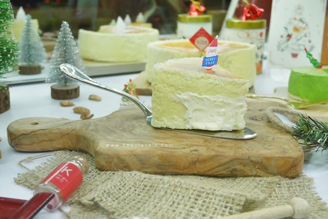 molten cheese cake dari KIBO