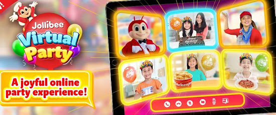 Jollibee Party Package for 2021: Jollibee Virtual Party