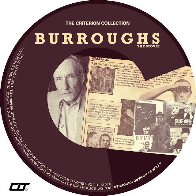 Burroughs Bluray Label