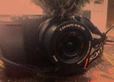 kamera vlogging