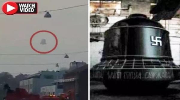 (Video) Senjata Rahsia Rusia? Loceng Terbang Sebesar Bangunan Dirakam Di Ruang Udara Sweden