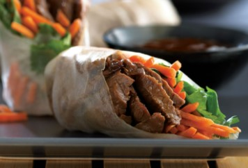 Beef & Veggie Spring Rolls