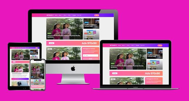 Invorte Pro Style 3 Responsive Blogger Template
