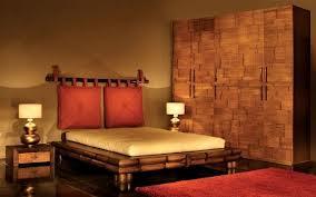 Dormitorio decorado en estilo étnico