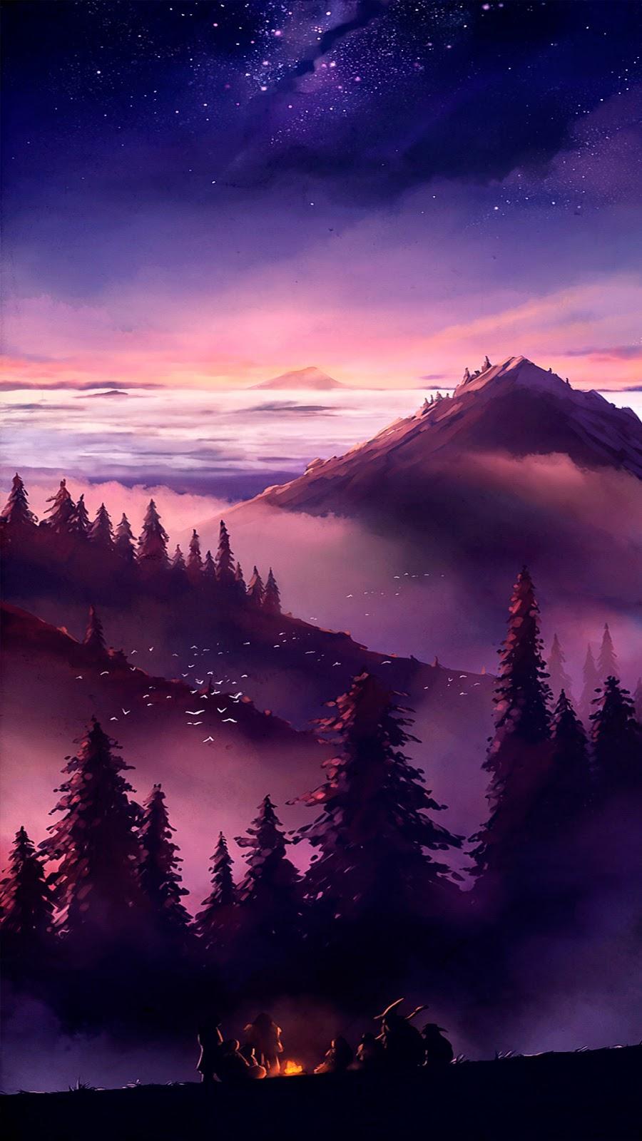 Twilight scenery