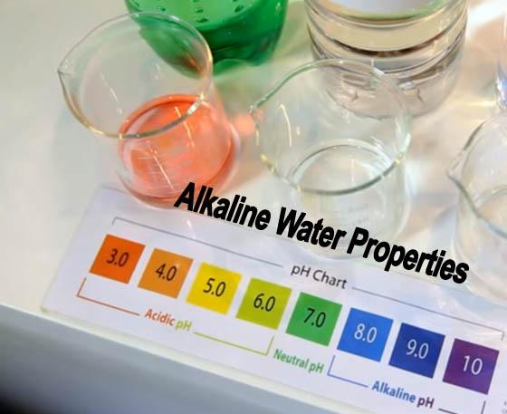 Alkaline Water Properties