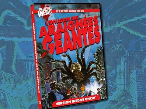 L invasion des araignées géantes   Critique et test DVD ~ Ecranbis ... 9909a2ab27f7