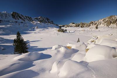 Randonnée raquettes neige Néouvielle