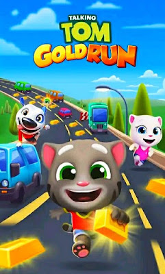 Talking Tom Gold Run MOD Apk (Unlimited Money/Unlocked) for Android