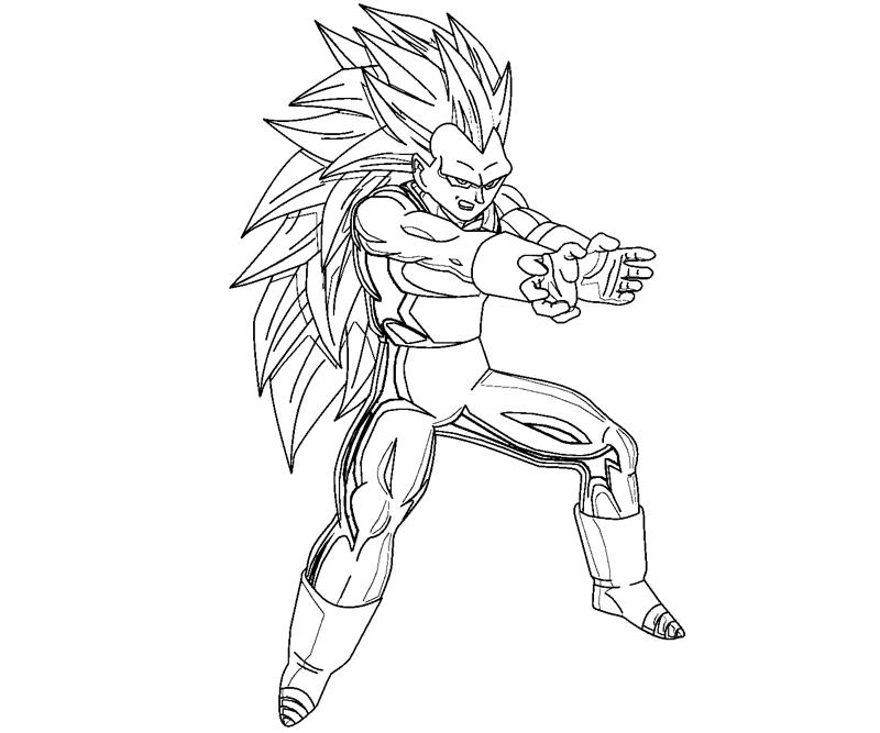 Goku vs vegeta coloring pages coloring pages for Dragon ball z vegeta coloring pages