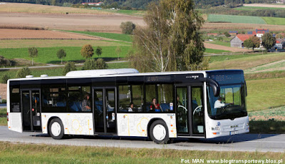 MAN Lion´s City w wersji Euro-6