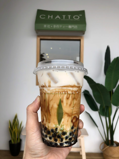 CHATTO 茶社 黑糖珍珠奶
