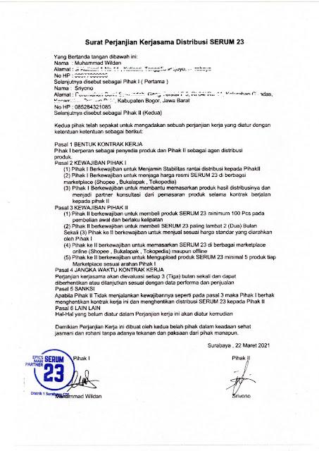 Agen Distributor Jual Serum23 Di Jakarta Obat Kuat Oles Tahan Lama Tanpa Efek Baal