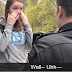 VIDEO: Abortion advocate cries, begs, pleads when college cop arrests her for stealing pro-life sign — and it's a major hoot