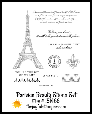 Stampin' Up! Parisian Blossoms stamp set | Nicole Steele The Joyful Stamper