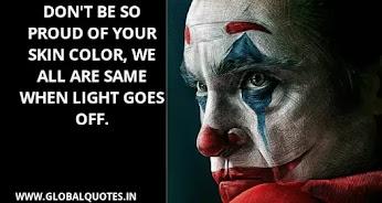 The Joker Best Quotes