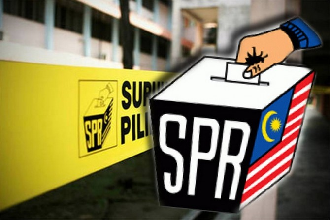 SPR mengundi