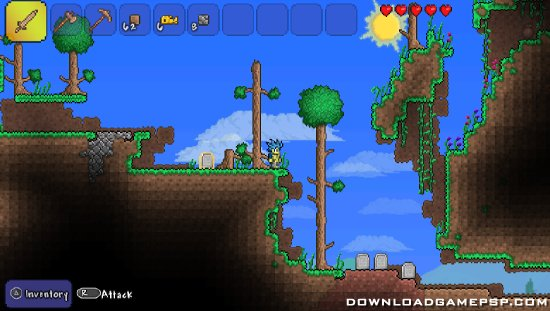 Terraria - Download Game PSP PPSSPP PSVITA Free