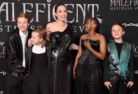 Angelina Jolie nem hagyhatja el Amerikát a gyermekeivel Brad Pitt miatt