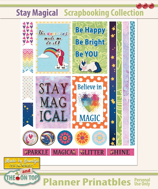 Stay Magical Planner Printables