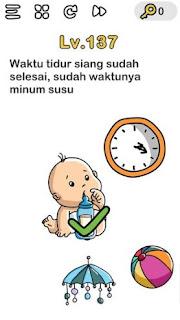 Waktu Tidur Siang Sudah Selesai Waktunya Minum Susu Brain Out