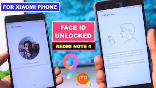 Cara Mengaktifkan dan menggunakan Face Unlock HP Xiaomi dengan Mudah