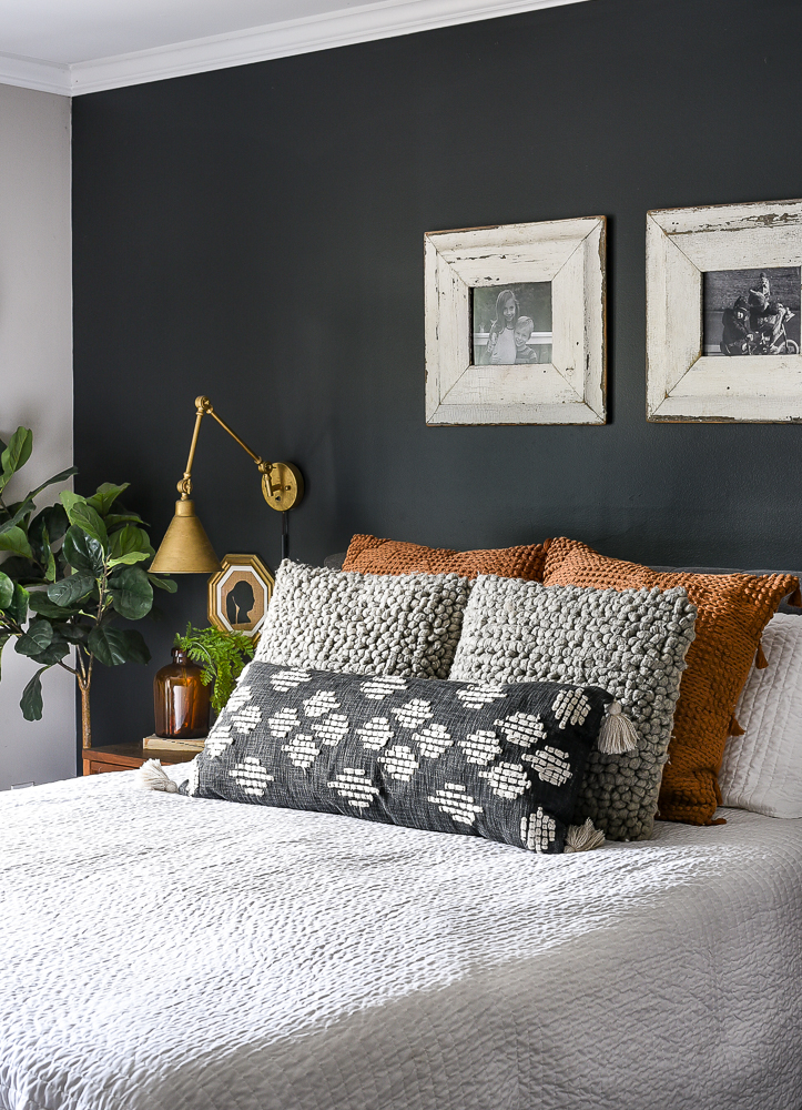 Swap out pillows for fall
