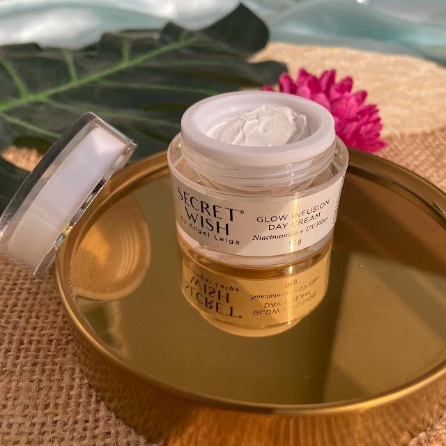 Day Cream Secret Wish Glow Infusion Skincare by Angel Lelga
