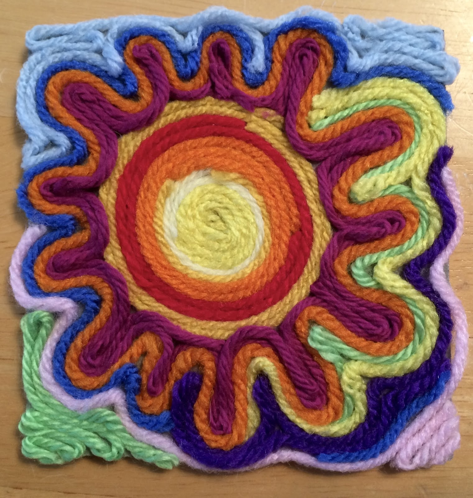 Kathy's AngelNik Designs & Art Project Ideas: Mexican Sun
