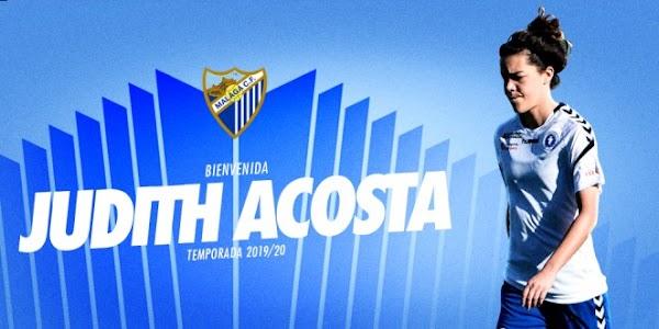 Oficial: El Málaga Femenino refuerza el ataque con Judith Acosta