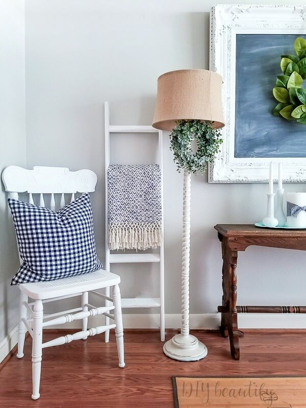 cottage blue decor