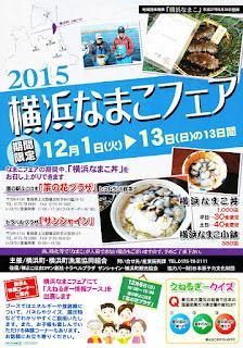2015 Aomori Yokohama Sea Cucumber Namako Fair 平成27年度 青森県横浜町 横浜なまこフェア