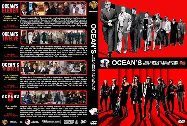 Ocean's: The Complete Collection DVD Cover