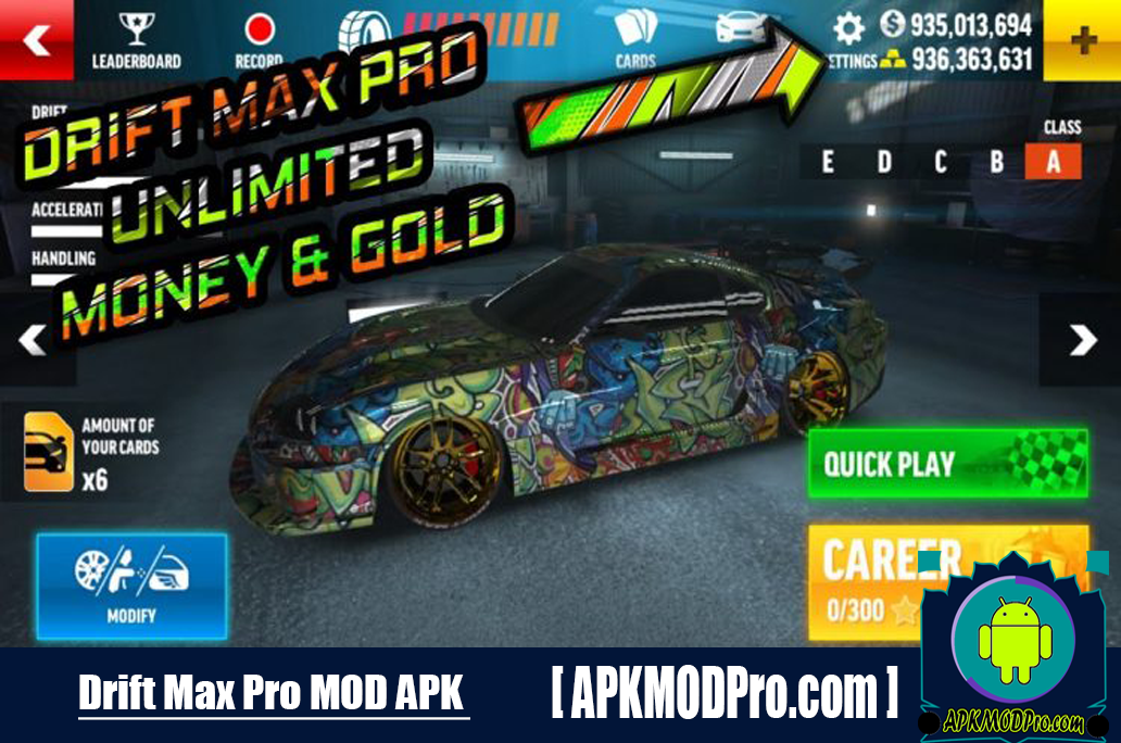Download Drift Max Pro MOD APK 2.2.9 (Unlimited Money , Free Shopping) For Android