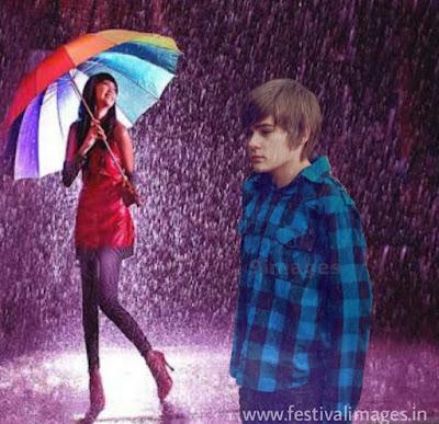 Romantic Rain Wallpapers Images